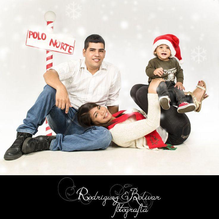 Blanca Navidad en familia