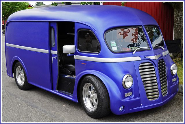 1951 International Delivery Van!