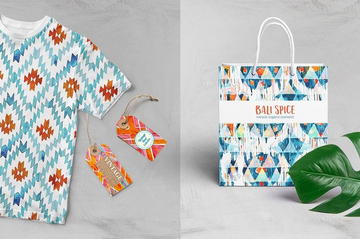 Balinese Ikat by Tasiania on @creativemarket