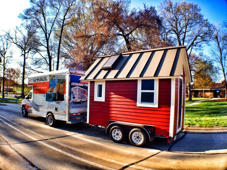 A 107 square feet tiny house on wheels in Asheville, North Carolina