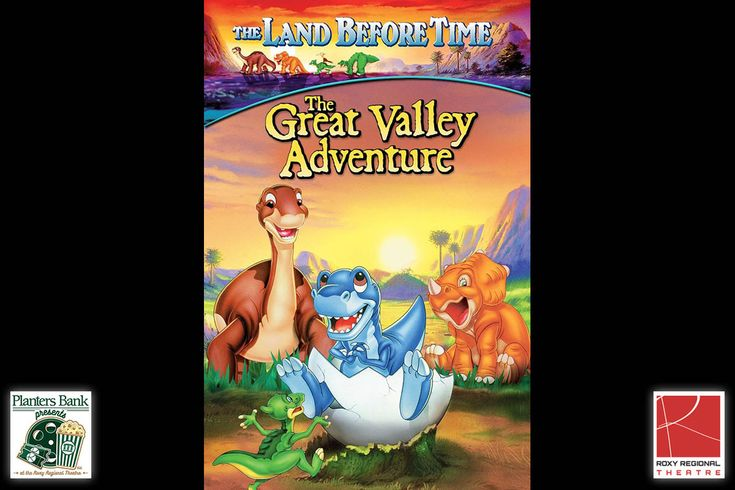 """Planters Bank Presents the movie """"The Land Before Time"""" at the Roxy Regional Theatre, March 18th"""