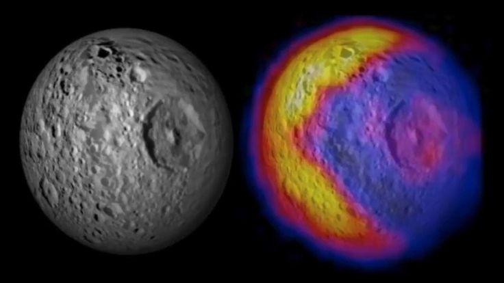 La NASA muestra nuevas imágenes de Mimas, la 'Estrella de la Muerte' de ...