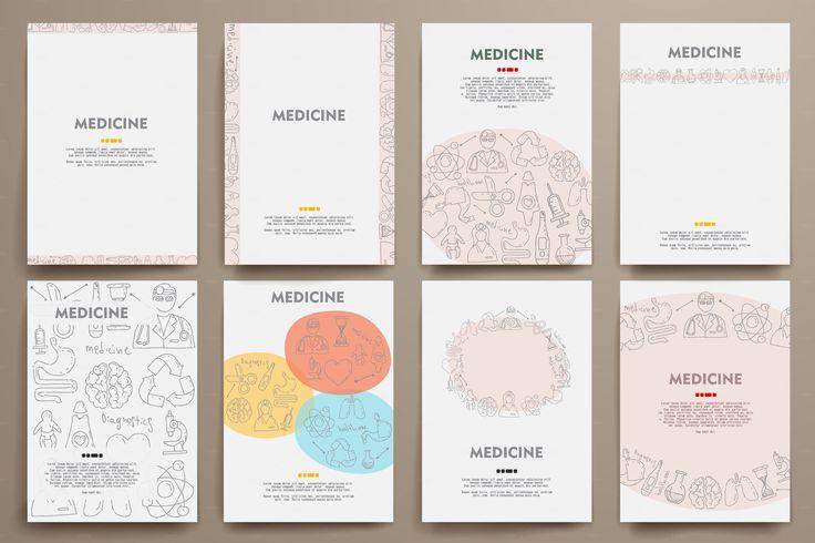 Doodle Medicine temlates by Palau on Creative Market