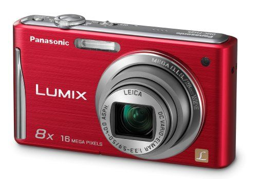 Panasonic DMC-FH25R 16.1MP Digital Camera with 8x Wide Angle Image Stabilized Zoom and 2.7 inch LCD (Red) | reviews | Order