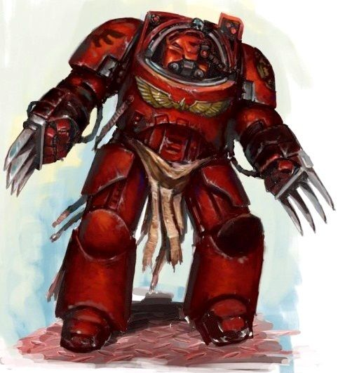 Blood Angels assault terminator