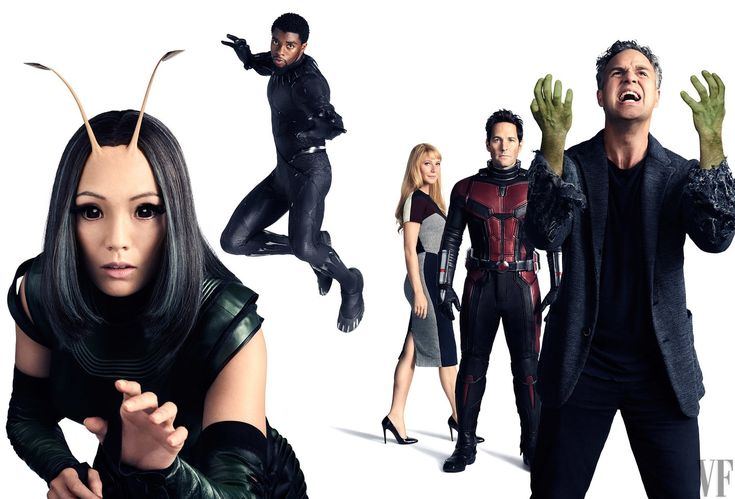 Avengers: Infinity War || Mantis,T'Challa (Black Panther),Pepper Potts,Scott Lang (Ant-Man),Bruce Banner (Hulk)