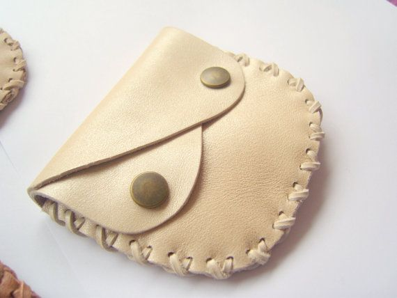 Portafoglio in pelle marrone chiaro borsa di di leatherlovestosco