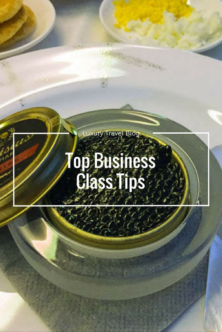 How to make the most of a business class flight, with our top business class tips!
