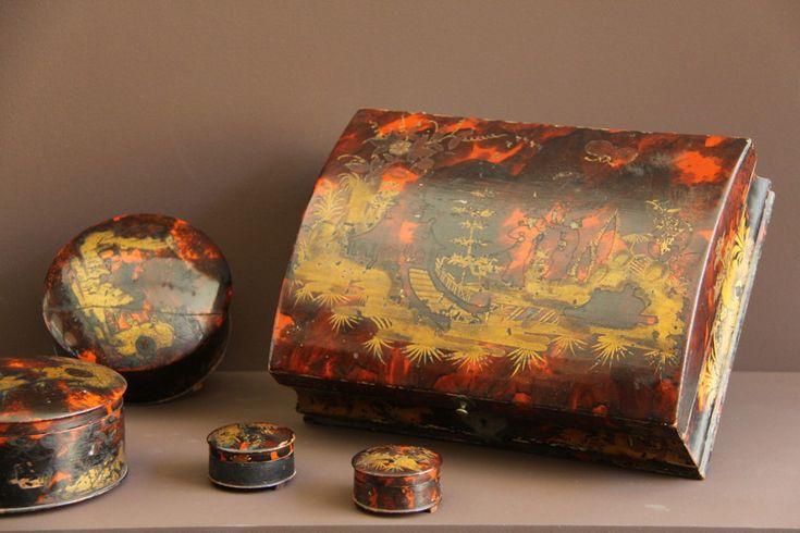 Série De Boîtes à Perruque d'époque Louis XV , Galerie Pellat de Villedon, Proantic