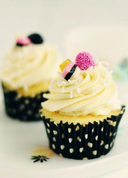 Vanilla Almond & Anise Cupcakes