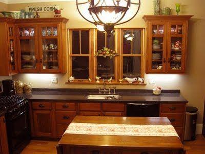 Victorian Kitchens | 1893 Victorian Farmhouse: Birdu0027s Eye View Of A Victorian  Kitchen