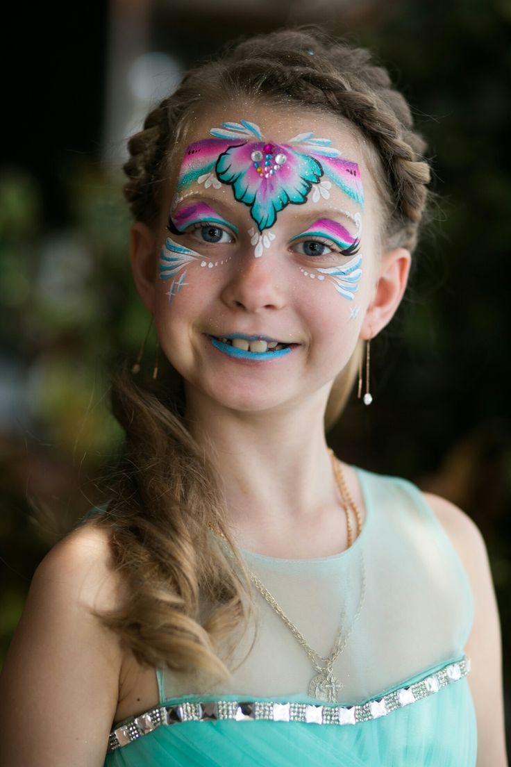 Принцесса от аквагримера компании #enjoycolors :)