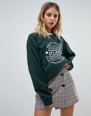 88b5d63b44 Daisy Street Atlanta sweatshirt | clothess :) in 2019 | Sweatshirts ...