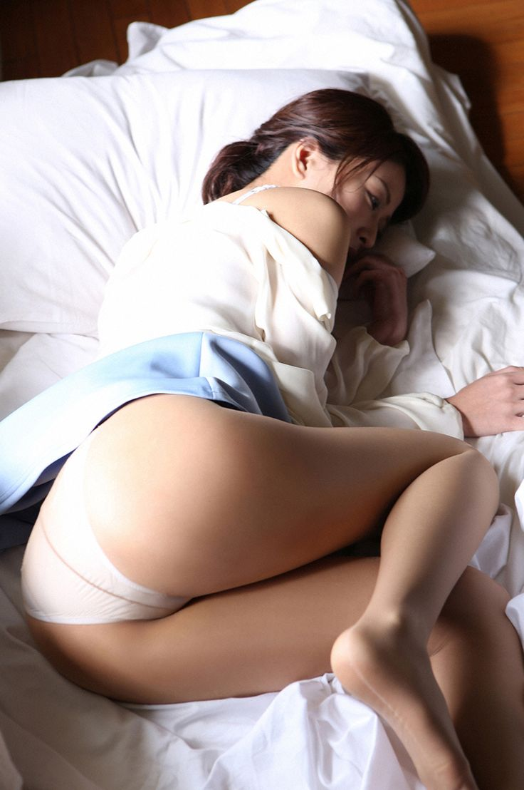 pantyhose over panties Asian