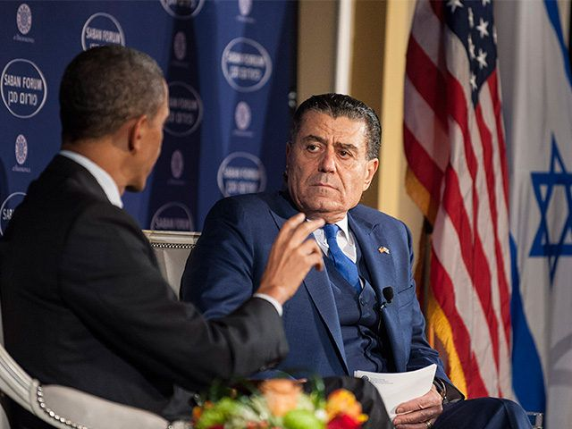 Haim Saban 'Deeply Disturbed' by Obama's 'Biased' Actions Against Israel  1/4/17