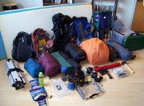 Viajes Turismo Aventura y Lugares turisticos de Ecuador Playas: Que debo llevar a un camping - Lista de articulos para acampar