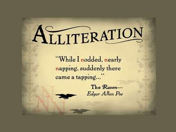 10 Best Alliteration Images On Pinterest Alliteration Figurative