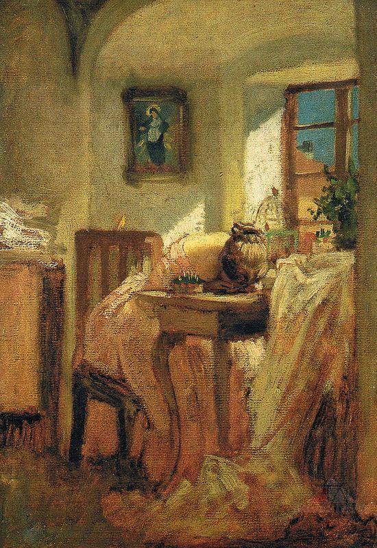 Švadlenka, Josef Mánes -zoufalství, -nejspíše sešila rub s rubem a švové záložky má z lícu