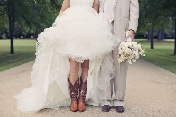 bad ass boots for the bride