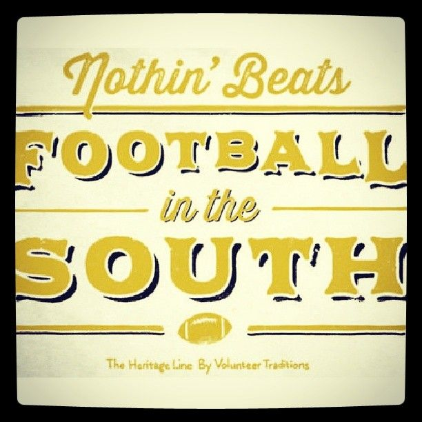Nothin. Nothin. NOTHIN. Beats football in The South! http://instagram.com/p/fF-BlGIKuS/