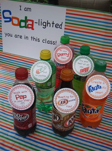 Middle School Students. Grab their attention with a soda pop theme!