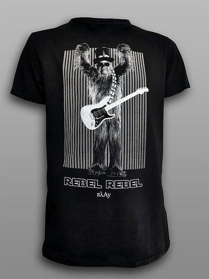 Rebel Chewie Silk Screen printed tee  #πλAy #starwars #chewbacca #chewie #tshirt #rebel #slash #tee #rebelrebel #rock #fashion #printed_tee #t-shirt