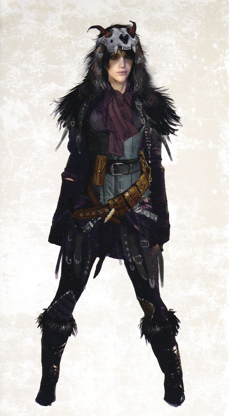 "Morrigan concept art from official ""The Art of Dragon Age: Inquisition"" - I iwsh they had gone with this instead of going back to her DAO outfit. That seemed a bit lazy."