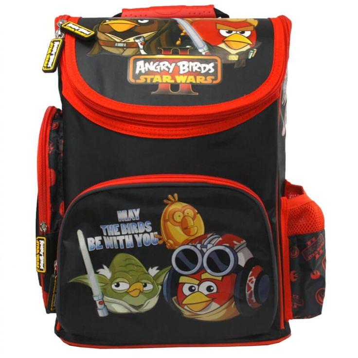 Tornister szkolny dla chłopca Angry Birds Star Wars