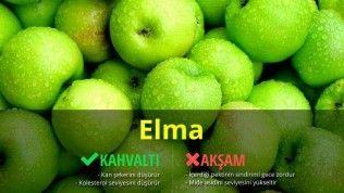 Elmayı Hangi Öğünlerde Tüketmeliyiz