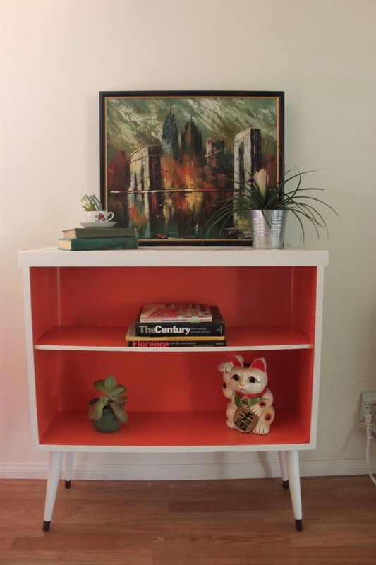 Mid-Century Modern Refurbished Bookcase in Burbank, California ~ Apartment Therapy Classifieds