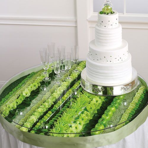 Contemporary Wedding Bouquets   Flowers in Your Wedding Arrangements... Imagine this table in your wedding colors