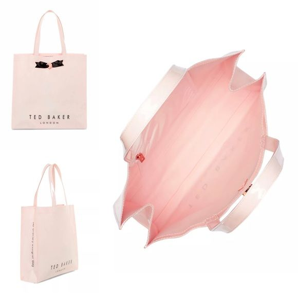 TED BAKER Pink Monicon Tote Shopping Bag Brand new and authentic item from TED BAKER in its original unused and packaged condition. Dimensions: 22 x 29 x 12 CM Ted Baker Bags Totes