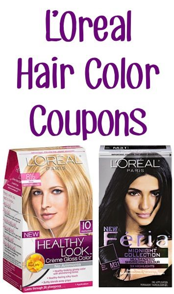 L'Oreal Hair Color Coupons: 2.00 off 1 Healthy Look or 2.00 off 1 Feria! {+ hair tips}