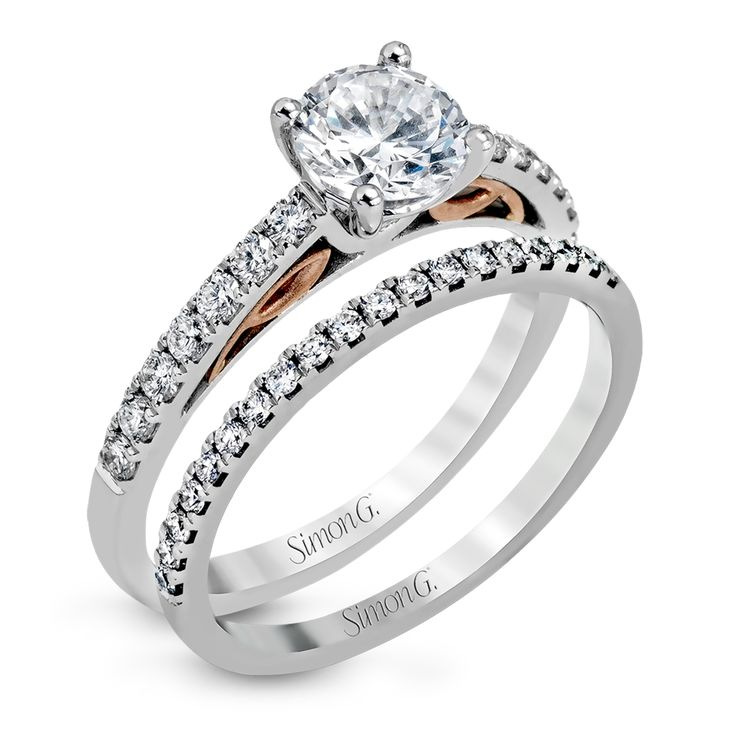 Discover the Classic Romance Collection by Simon G. Jewelry with Engagement Set MR2546