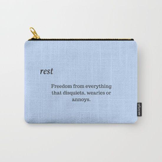 #rest #words #Society6