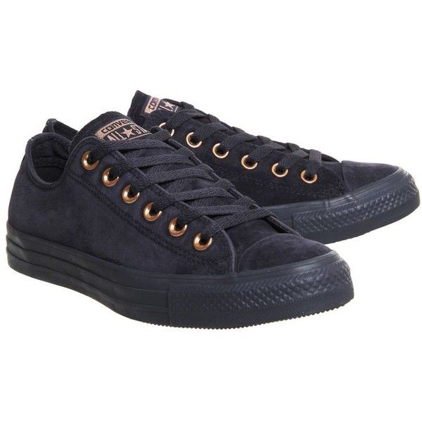 718677d2a80 Converse supplied by Office Converse All Star Low Trainers (1.805 ARS) ❤  liked on