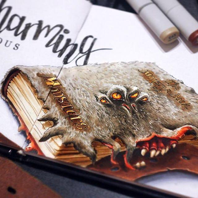 Чудовищная книга о чудовищах скачать