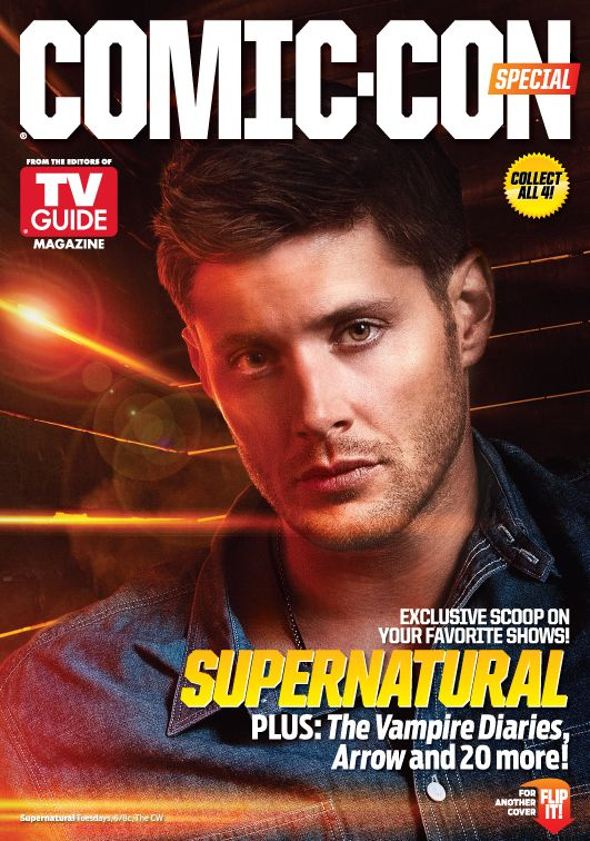 Does anyone know when this is out? i want it!!! NAY I NEED it!!!!!  TVGM-2013-Cover #Supernatural #JensenAckles