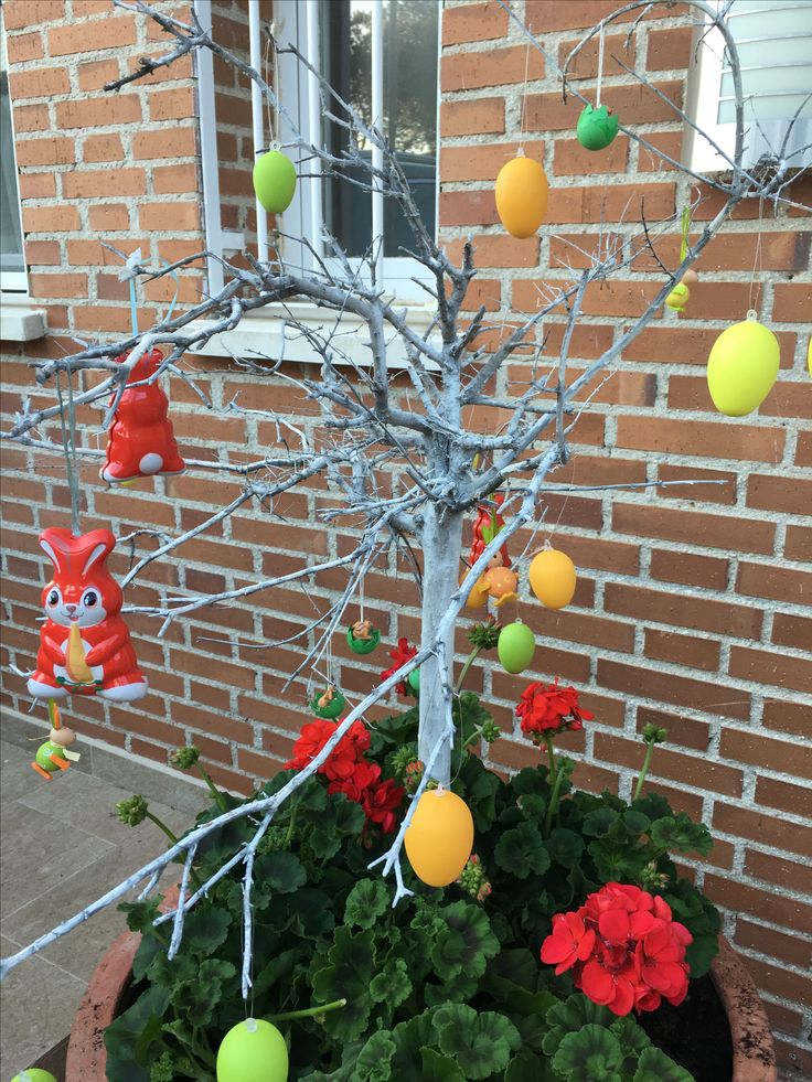 Easter decoration, pascoa, easter tree