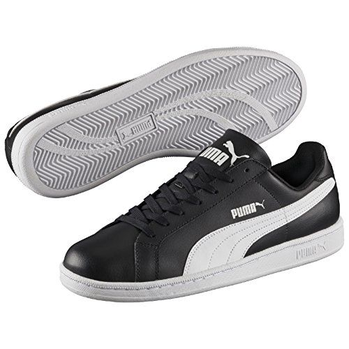 Puma Puma Smash L, Unisex-Erwachsene Sneakers, Schwarz (black-white 14), 42 EU (8 Erwachsene UK) - http://uhr.haus/puma-6/42-eu-puma-smash-l-unisex-erwachsene-sneakers-40-5