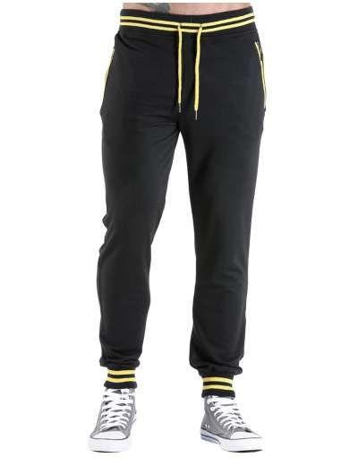 ΝEEΣ ΑΦΙΞΕΙΣ :: Φόρμα Zips and Lines Black - OEM