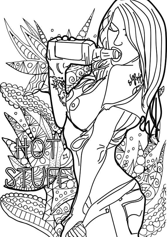 coloring pages of naked women