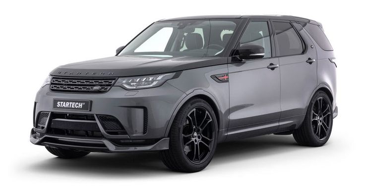 Startech Gives New Land Rover Discovery A Tuning Makeover #Frankfurt_Motor_Show #Land_Rover
