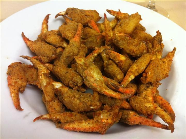 Fried Crab Claws Mobile Alabama Yum Fries Carrots Meals