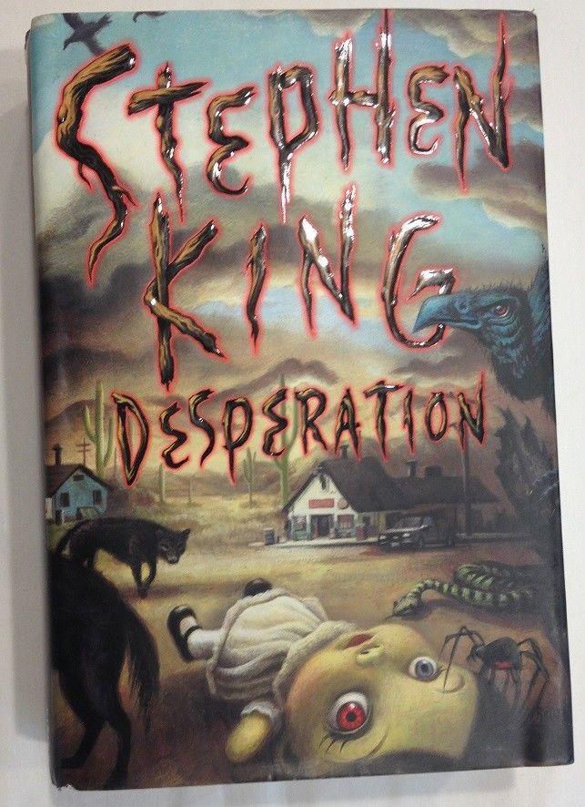 Desperation by Stephen King (1996, Hardcover w/ Dust Jacket) 1st Ed. / 1st Print