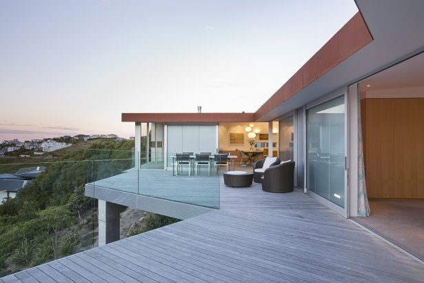 Project - Redcliff House - Great Deck SpaceMaps Architects, House Design, Balconies Design, Open Spaces, Sea View, Spaces Design, Ocean View, New Zealand, Redcliffe House