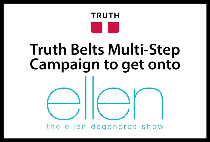 Hi everyone! After running my vegan belt company, Truth Belts, part-time for over a decade, I got laid off in Nov. 2013 with a huge severance package! With nothing stopping me, I can now live my dream of meeting Ellen Degeneres! I am creating a series of steps to get me there. Wish me luck! And for the love of kindness, Ellen, if you happen to read this, contact me!