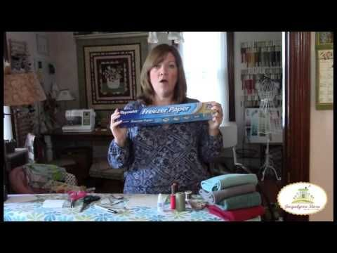 Learn about the supplies you need for wool applique, and how to get started. It's very easy and fun!!