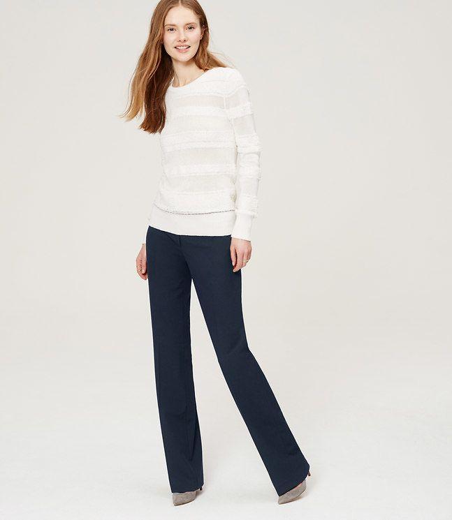 LOFT Tall Trousers in Custom Stretch in Julie Fit