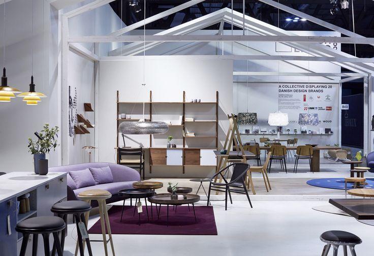 Danish Living Room, 2015  Designer of the stand: Tine Mouritsen Photo: Martin Sølyst